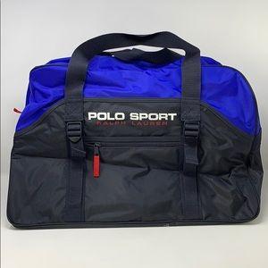 Ralph Lauren Polo Sport Duffle Bag Gym Carry On